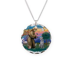 St Francis #2/ S Deer. #2 Necklace