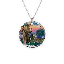 St Francis #2/ S Husky #2 Necklace