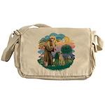 St Francis #2/ Sloughi Messenger Bag