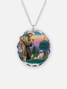 St.Francis #2/ Tibetan Span Necklace
