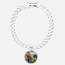 St Francis #2/ Wheaten Bracelet