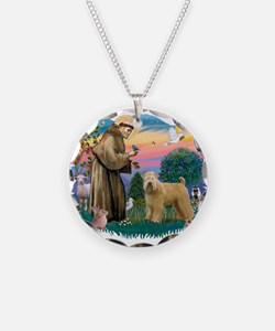 St Francis #2/ Wheaten Necklace