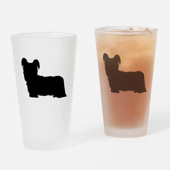 Skye Terrier Drinking Glass