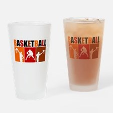 3UP Basketball Drinking Glass