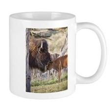 Unique Yellowstone buffalo Mug