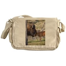 Cute Buffalo Messenger Bag