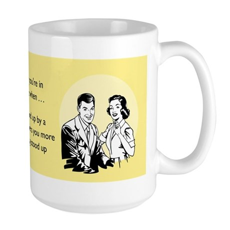 Stood Up Large Mug