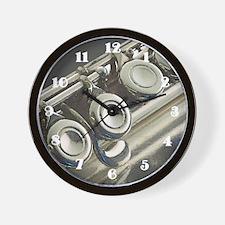 Flute Wall Clock