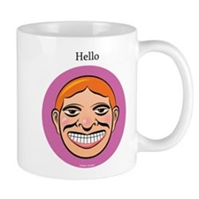 Violet Hello Mug