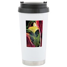 Jungle Flower Travel Mug