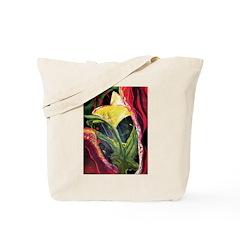 Jungle Flower Tote Bag