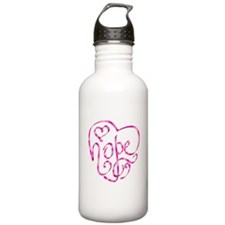 Hope - Breast Cancer Awarenes Stainless Water Bott