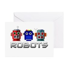 Robots Greeting Cards (Pk of 20)