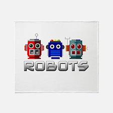 Robots Throw Blanket