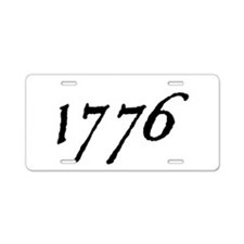 DECLARATION NUMBER TWO™ Aluminum License Plate