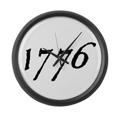 DECLARATION NUMBER TWO™ Large Wall Clock