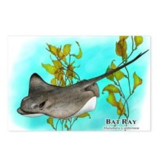 Bat Ray Postcards (Package of 8)