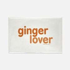Ginger Lover Rectangle Magnet