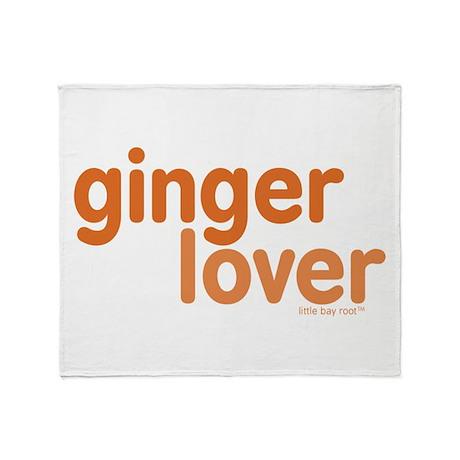 Ginger Lover Throw Blanket