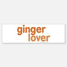 Ginger Lover Bumper Bumper Sticker