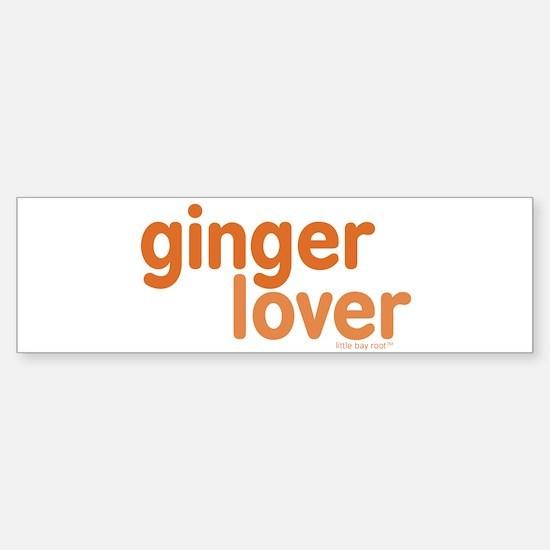 Ginger Lover Sticker (Bumper)
