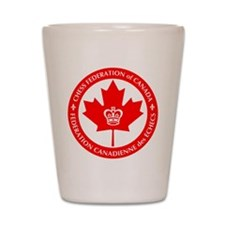 Chess Federation of Canada Shot Glass