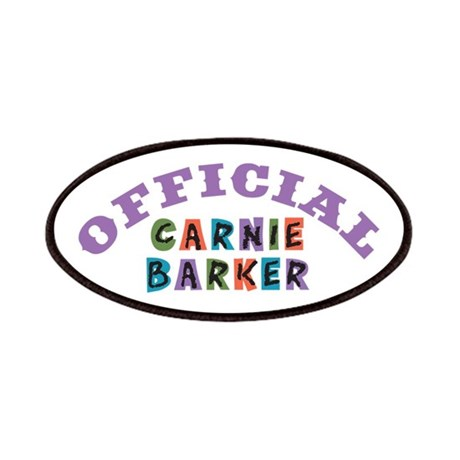 Offical Carnie Barker Patches