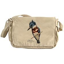 Belted Kingfisher Messenger Bag
