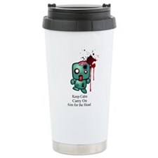 Keep Calm, Carry On, Aim for Travel Mug