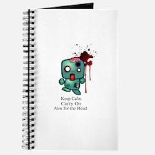 Keep Calm, Carry On, Aim for Journal