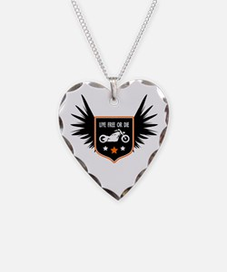 Live Free Or Die Necklace