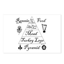 Rennie Food Pyramid Postcards (Package of 8)