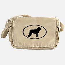 Bouvier Oval Messenger Bag