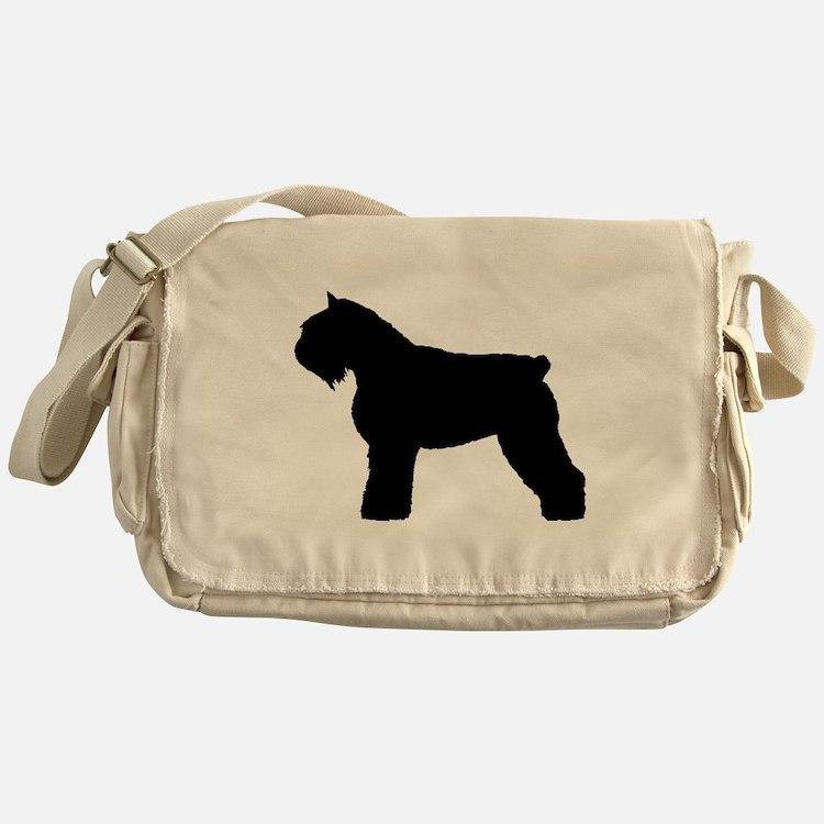 Bouvier des Flandres Dog Messenger Bag
