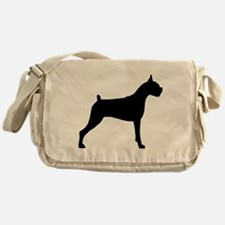 Boxer Dog Messenger Bag