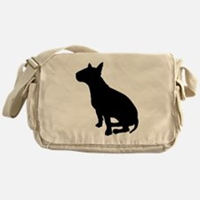 Bull Terrier Dog Breed Messenger Bag