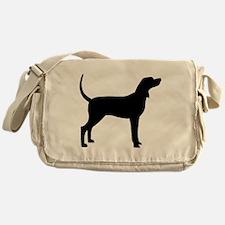 Coonhound Dog (#2) Messenger Bag