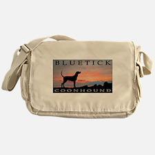 Bluetick Coonhound Sunset Messenger Bag