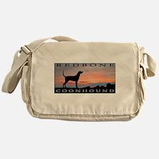 Redbone Coonhound Sunset Messenger Bag