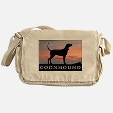 Sunset Coonhound Messenger Bag