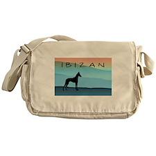 Ibizan Blue Mountains Messenger Bag
