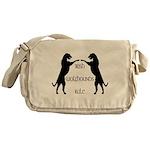 Irish Wolfhounds Rule Messenger Bag
