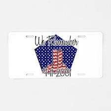 Cute September 11 Aluminum License Plate