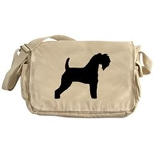 Kerry Blue Terrier Messenger Bag