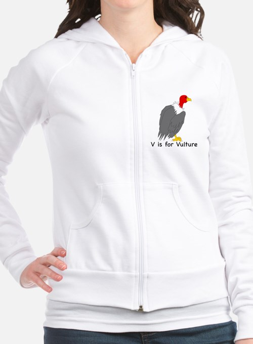 V is for Vulture Fitted Hoodie