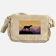 Purple Mountains Pointer Messenger Bag