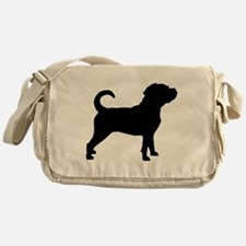 Puggle Dog Messenger Bag