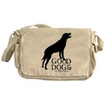 Good Dogs Messenger Bag