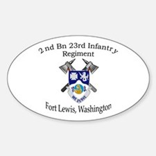 2nd Bn 23rd Infantry Decal
