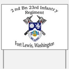 2nd Bn 23rd Infantry Yard Sign